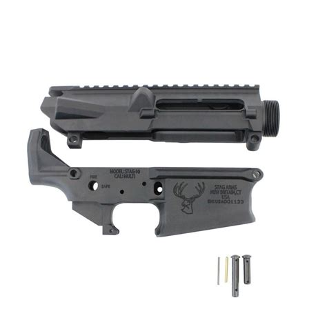Stag 10 Stripped Upper Lower Combo - Stag Arms LLC