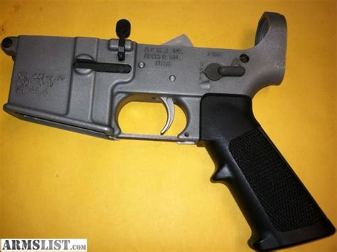 Stainless Steel Ar 15 Lower Receiver For Sale