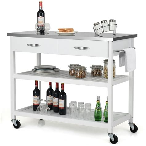 Stainless Steel Kitchen Cart With Drawers Iphone Wallpapers Free Beautiful  HD Wallpapers, Images Over 1000+ [getprihce.gq]