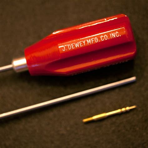 STAINLESS STEEL RODS Dewey 36-HSS Rod - Brownells-russia Com