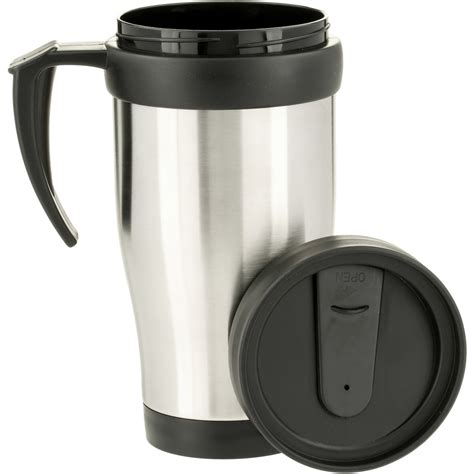 Stainless steel travel cup Image
