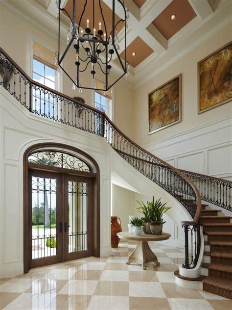 Staircase Ideas Near Entrance