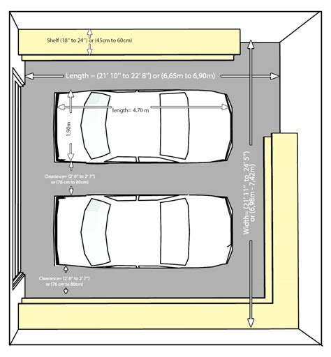 Standard Two Car Garage Size Make Your Own Beautiful  HD Wallpapers, Images Over 1000+ [ralydesign.ml]