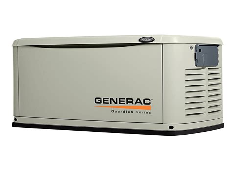 Standby generator natural gas consumption Image