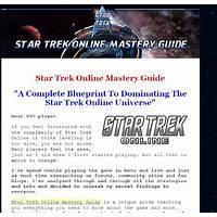 Cash back for star trek online mastery guide