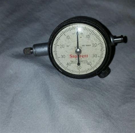 Starrett Dial Indicator For Sale Ebay