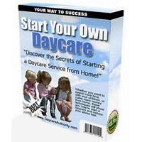 Start your own daycare system guides