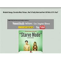 Buy starve mode from the sellers of the fat loss troubleshoot