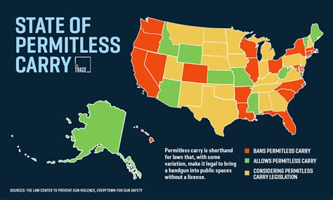 States With Right To Carry Concealed Handgun Law