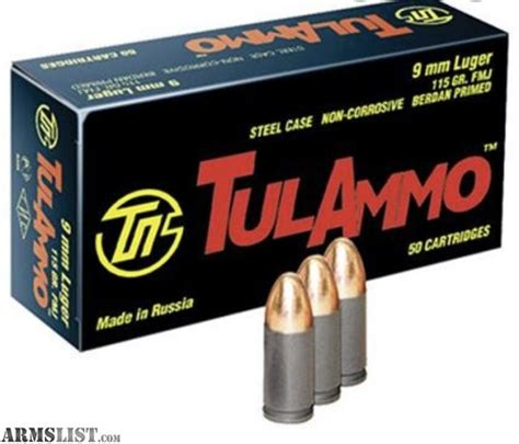 Steel Case 9mm Ammo For Sale