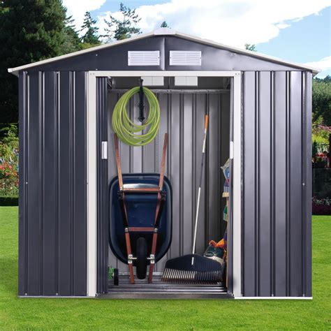 Steel storage sheds Image