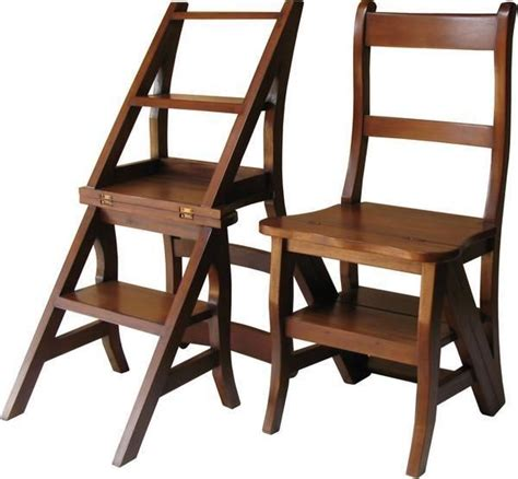 Step stool chair combination Image