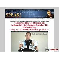 Guide to step up and speak public speaking and presentation secrets