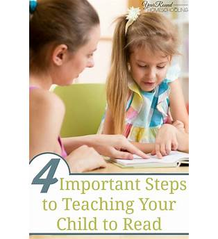 Steps To Teaching Reading