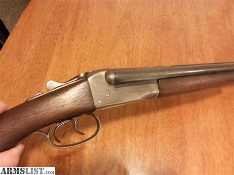 Stevens 20 Gauge Side By Side Shotgun