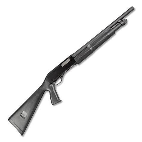 Stevens 320 Security Pump Action Shotgun 12 Gauge Review