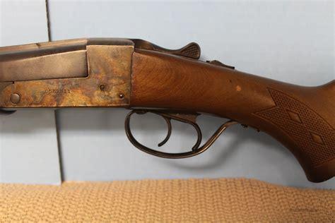 Stevens Double Barrel Shotgun For Sale