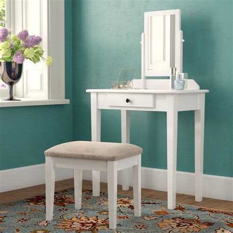 Stewart Vanity Set with Mirror
