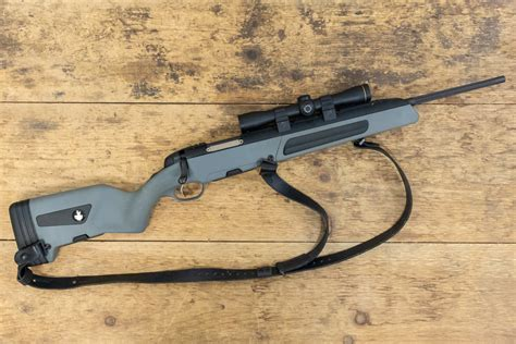 Steyr Scout Camo Rifle In 308 Win