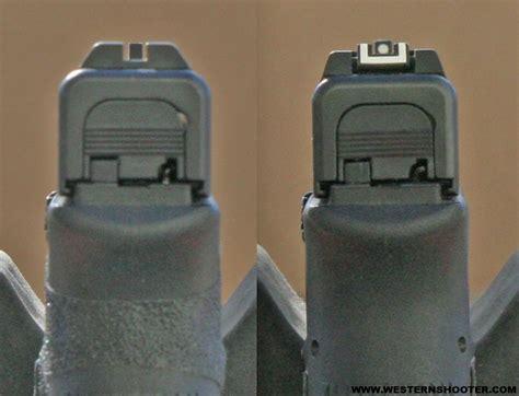 Stock Glock Sights