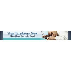 Stop tiredness today, and gain more energy scam