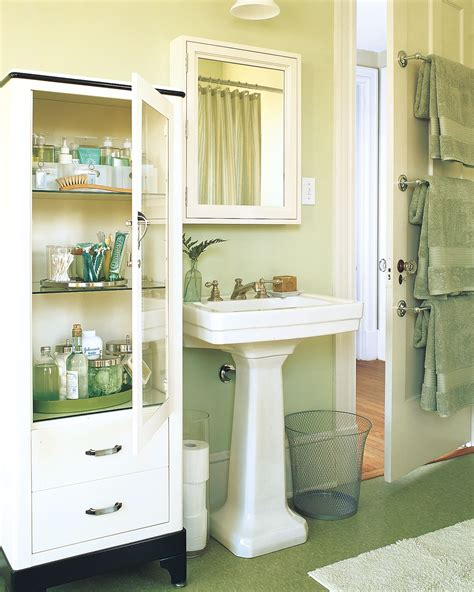 Storage For Small Bathroom Spaces