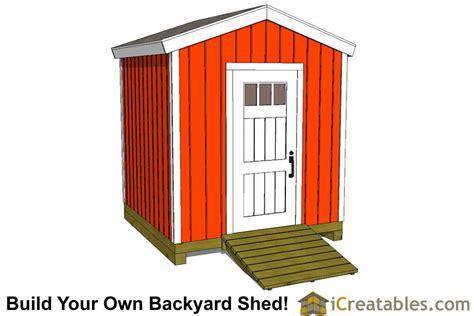 storage shed plans 8x8.aspx Image