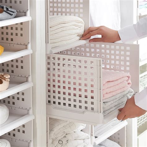 Storage boxes drawers plastic storage drawers for clothes Image