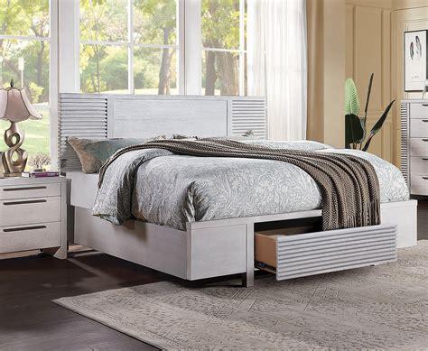 Storage queen size bed Image