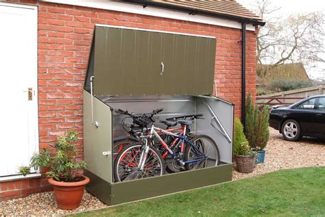 Storage shed for bikes Image