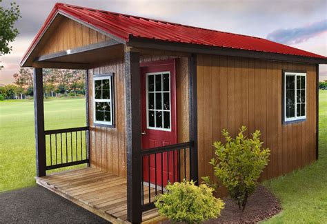 Storage shed houses Image