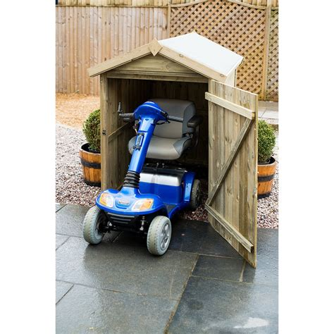 Storage sheds for mobility scooters Image