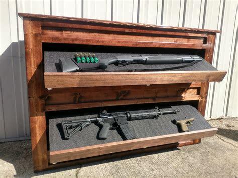 Gun-Store Storing Guns Outside Home.