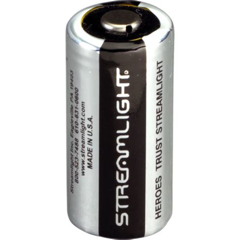 Streamlight 85180 Lithium Batteries Cr123a 6 Pack