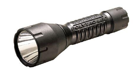 Streamlight 88850 Polytac Led Flashlight With Lithium Batteries Black
