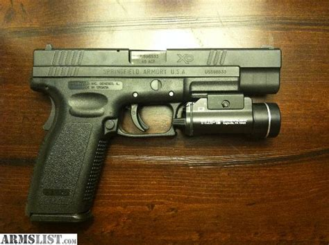 Streamlight For Springfield Xd45 Acp And Streamlight Micro Stream C4