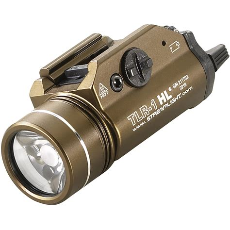 Streamlight Tlr 1s Weapon Light And Streamlight Tlr 7 8