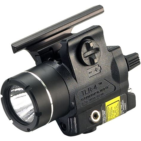 Streamlight Tlr4 Railmounted Led Weapon Light With Red