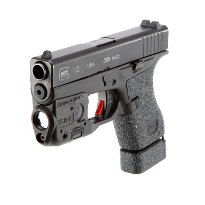 Streamlight Tlr6 Subcompact Tactical Lightlaser Glock 262733 Tlr6 Weapon Light Laser Black