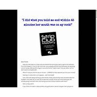 Strip club mastery the ultimate guide to strip club seduction guide