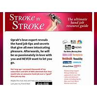 Stroke by stroke guide to giving amazing hand jobs discount