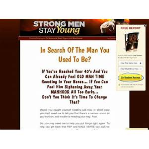 Strong men stay young: resurrect the man you used to be step by step