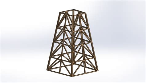 Strongest balsa wood tower Image