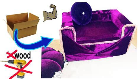 Strongest cardboard sofa chair cardboard reuse idea Image