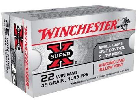 Sub Sonic 22 Mag Ammo And 14 Ga Shotgun Ammo