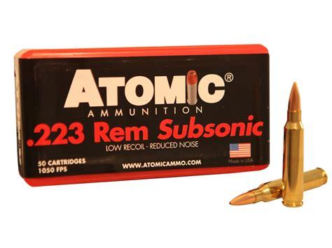 Subsonic 223 Ammo