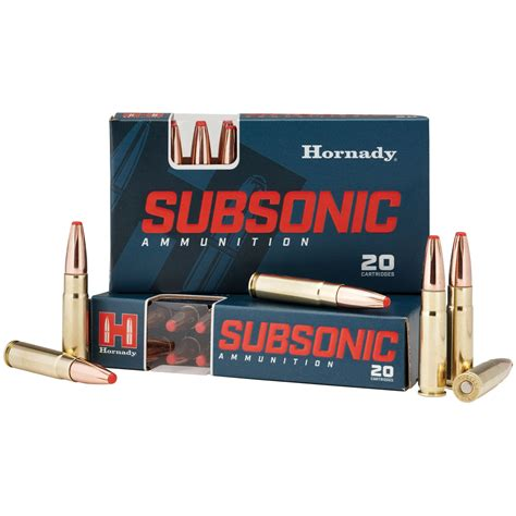 Subsonic Rounds For 300 Blackout