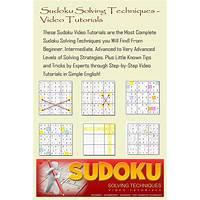 Sudoku solving techniques video tutorials coupons