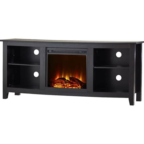 "Sunbury TV Stand for TVs up to 60"" with Electric Fireplace"