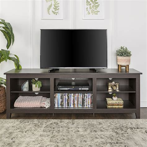 "Sunbury TV Stand for TVs up to 70"" with optional Fireplace"